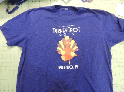 1. T-shirt front