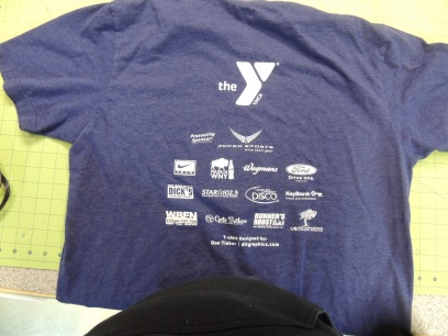 2. T-shirt Back